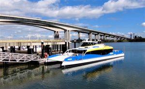 CityCat's new double-decker CityCat 22 water trials
