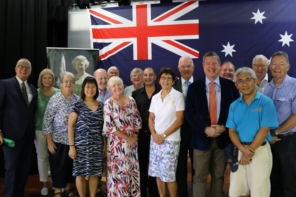 Hamilton David McLachlan Australia Day